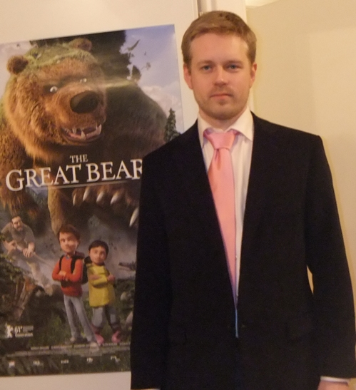 "Nicklas Schmidt, composer of ""The Great Bear"""